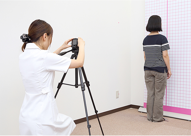 姿勢分析の写真